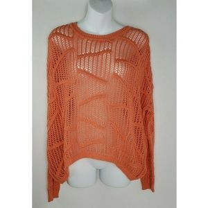 Sparkle & Fade Urban Outfitters Oversize Coral XS